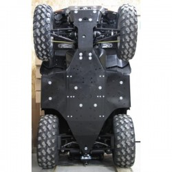 Skid Plate Full Kit Aluminium Polaris Sportsman 850XP Sportsman 550XP