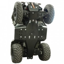 Skid Plate Full Kit HDPE Plastic Polaris 570 Sportsman X2 Touring