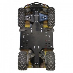 Skid Plate Full Kit HDPE Plastic CanAm - Outlander 500-650 Max-Outlander 800R Max-XMR