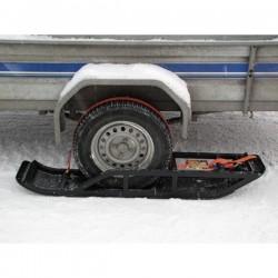Skis-Sliders pour Remorque - Quad - SSV