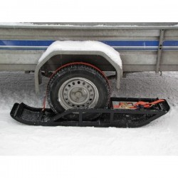 Trailer Ski Kit for 1 Axle Trailer ATV SSV Snowmobile