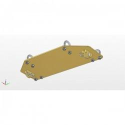 Kit de Fixation Lame à Neige TGB 425 Blade - 550 Blade