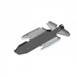 Skid Plate FULL KIT Plastic Aluminium Alloy Polaris - RZR 1000XP