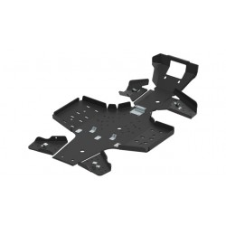 Skid Plate Full Kit HDPE Plastic Yamaha-700 Grizzly 2016