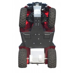 Skid Plate Full Kit Alu Plastic Honda TRX420 Fourtrax
