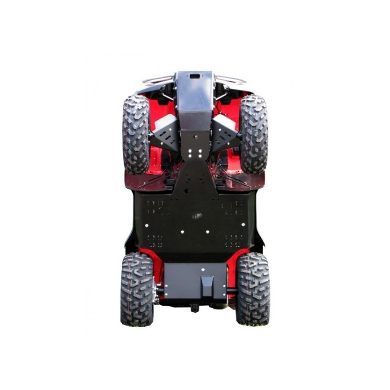 sc 1 st  green-equipement & Skid Plate Full Kit HDPE Plastic Honda TRX 500 Rubicon TRX 500 Foreman