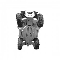 Skid Plate Full Kit Aluminium Alloy Yamaha-660 Grizzly