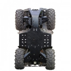 Skid Plate Full Kit HDPE Plastic Yamaha-550 Grizzly-700 Grizzly