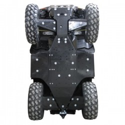 Skid Plate Full Kit HDPE Plastic Polaris- Sportsman 850XP-Sportsman 550XP