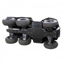 Skid Plate Full Kit HDPE Plastic Polaris 800 Big Boss