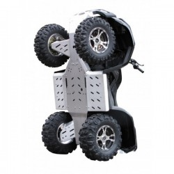 Skid Plate Full Kit Aluminium Alloy Goes 525i Max-625i Max