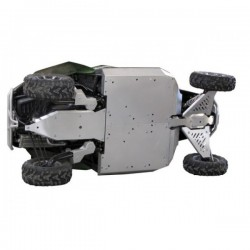 Skid Plate Full Kit Aluminium Alloy Arctic Cat - Wildcat 1000i