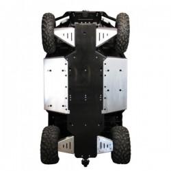 Skid Plate Full Kit Aluminium Plastic Polaris 400 Ranger