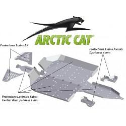 Protection Alu-Sabot Central-Protections Latérales-Trains Avant Arrière-Arctic Cat - Wildcat 1000i