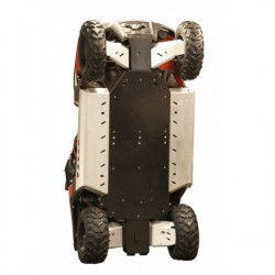 Skid Plate FULL KIT Plastic Aluminium Alloy Polaris RZR 800