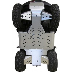 Sabot Central-Protections Marches Pieds-Trains Avant Arrière-Suzuki 500 AXi KingQuad EPS-750 AXi KingQuad EPS