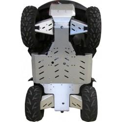 Skid Plate FULL KIT Aluminium Alloy Suzuki 500 AXi KingQuad EPS-750 AXi KingQuad EPS