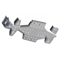 Skid Plate Full Kit Aluminium Polaris Sportsman 550 X2 Touring-850 Sportsman X2 Touring