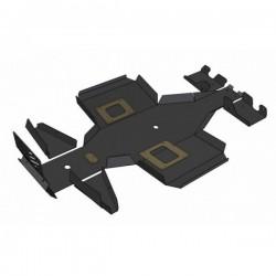 Skid Plate Full Kit HDPE Plastic Polaris 800 Sportsman X2