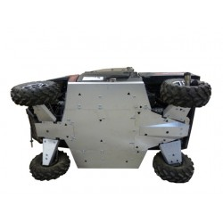 Skid Plate FULL KIT Aluminium Alloy Polaris 900 XP Ranger - 1000 Diesel Ranger