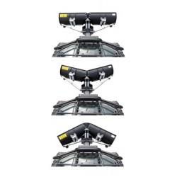 V Adjustable Snow Plow Kit ATV SSV UTV
