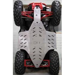 Skid Plate Aluminium Polaris 850 Scrambler