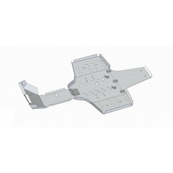 Skid Plate Aluminium Alloy Yamaha-550 Grizzly-700 Grizzly