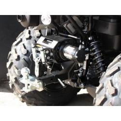 Kit de Fixation Arrière Treuil Kit Attelage Kawasaki KVF650 Brute Force KVF750 BruteForce