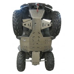 Protection Alu Sabot Central Protections Marches Pieds Trains Avant Kawasaki KVF650 Brute Force