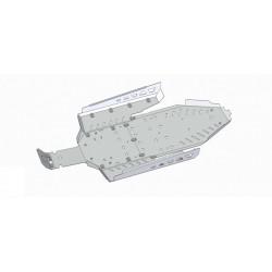 Skid Plate Aluminium Polaris RZR 900 XP