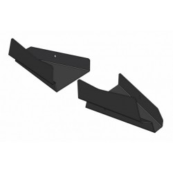 Front Rear A-Arm Protections Plastic Polaris 800 X2 Sportsman