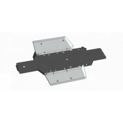 Skid Plate Plastic Aluminium Polaris 400