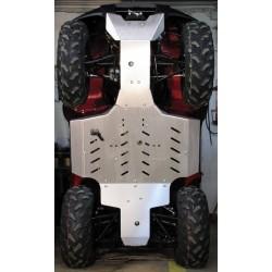 Skid Plate Full Kit Aluminium Kawasaki KVF650 BruteForce KVF750 Brute Force
