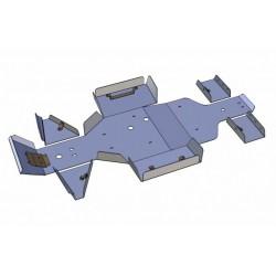 Skid Plate Full Kit Aluminium Linhai 400