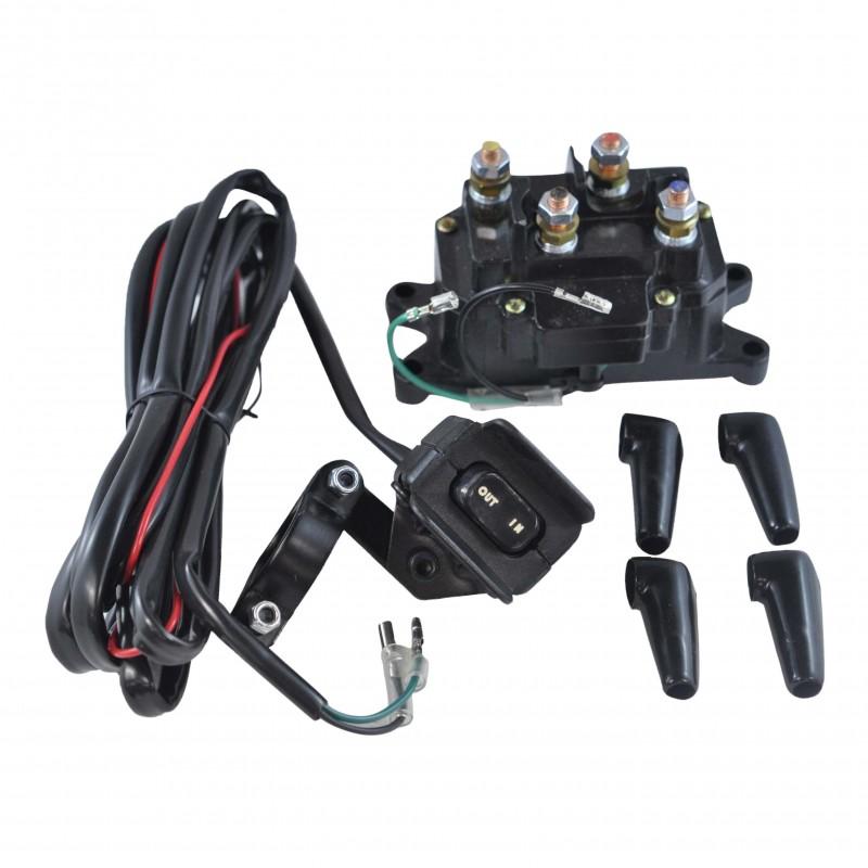 Winch Starter Relay Solenoid Switch Universal Atv