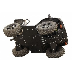 Kit Protection Complet PHD Sabot Central-Protections Marches Pieds-Polaris-Sportsman 1000 Touring