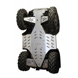 Kit Protection Complet Alu Sabot Central Protections Marches Pieds Polaris Sportsman 1000 XP