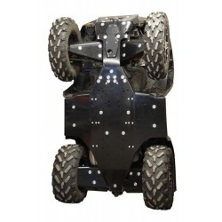Skid Plate Full Kit HDPE Plastic Polaris Sportsman 1000 XP