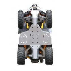 Skid Plate Full Kit Aluminium Alloy CanAm Renegade 500 G1 Renegade 800 G1