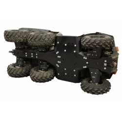 Skid Plate Full Kit HDPE Plastic Polaris 570 Big Boss 6x6