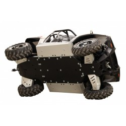 Skid plate FULL KIT Plastic Aluminium Alloy Polaris RZR 570