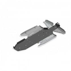 Skid Plate FULL KIT Plastic Aluminium Alloy Polaris 1000 RZR Turbo