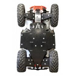 Skid Plate Full Kit HDPE Plastic Polaris 850 Scrambler 1000 Scrambler 2015+