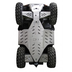 Skid Plate Full Kit Aluminium Polaris-Sportsman 850XP Sportsman 550XP