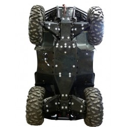 Skid Plate FULL KIT Plastic Arctic Cat TRV 1000 Limited MudPro 1000 Limited