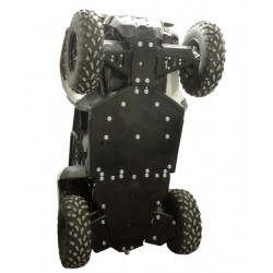 Skid Plate Full Kit HDPE Plastic Polaris ACE ETX 570 900
