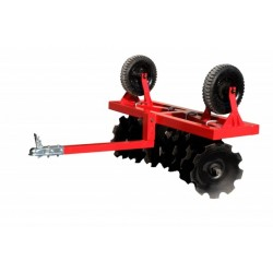 Charrue à Disques Quad SSV Mini Tracteur
