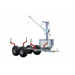 ATV SSV Timber Trailer + Crane