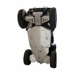 Skid Plate Full Kit Aluminium Polaris ACE 325