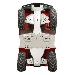 Skid Plate Full Set Aluminium Honda TRX420 FA6 TRX500 FA TRX500 FM7 IRS